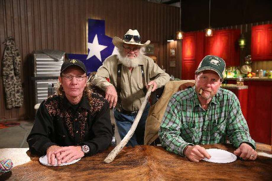 WEST TEXAS INVESTOR'S CLUB -- Pictured: (l-r) Butch Gilliam, Gil Prather, Rooster McConaughey -- (Photo by: Jesse Grant/CNBC)