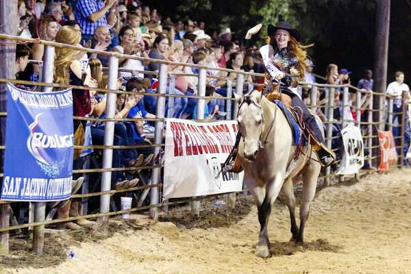 Jacelynn Head was crowned the San Jacinto County Fair and Rodeo Queen Saturday.