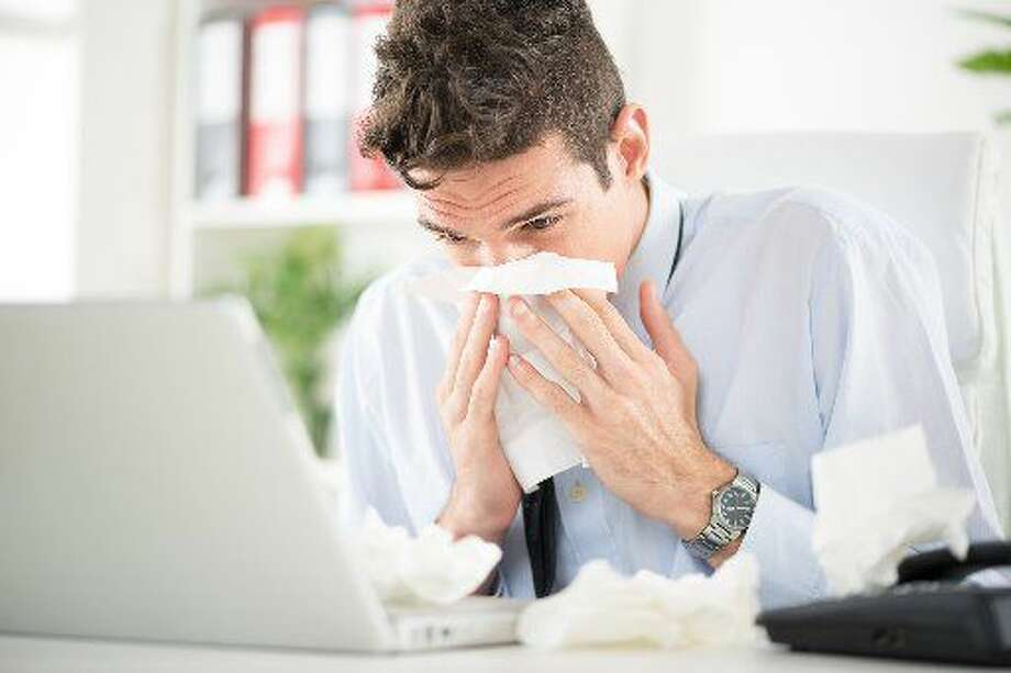 Doctors suspect the workplace ranks among the biggest culprits in spreading the flu. (Fotolia)