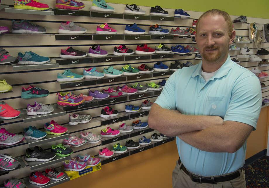 Chris Cato, new owner of Terry's Kids Shoes. Friday 09-23-16 Tim Fischer/Reporter-Telegram Photo: Tim Fischer