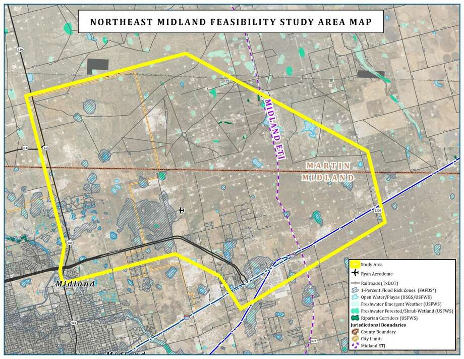 Sights turn to northeast Midland for future development Midland