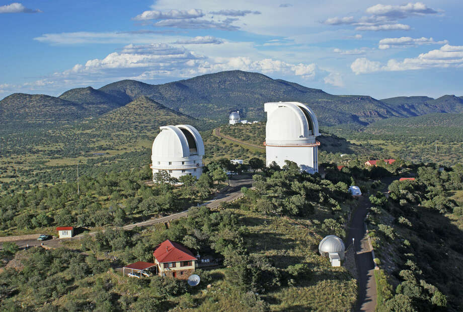 The McDonald Observatory in Fort Davis is seen in this undated photo. Photo:  Photos Courtesy McDonald Observatory