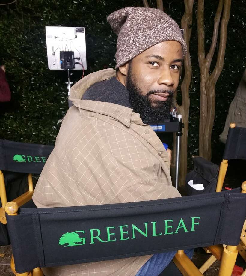 "Actor Kedrick Brown on the set of the new drama ""Greenleaf."" The Midland native appears on the show which stars Oprah Winfrey who is also the shows executive producer.  Photo: Courtesy Photo"