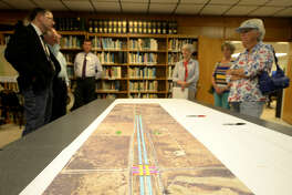 Midlanders had the opportunity to meet with representatives of the city and the Texas Department of Transportation to discuss planned improvements at the intersection of Fairgrounds Rd. and Loop 250, on Thursday, June 2, 2016, at the Sibley Nature Center. James Durbin/Reporter-Telegram