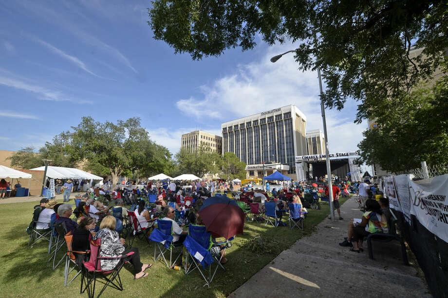 Blues Fest music festival Saturday, July 9, 2016 at Centennial Plaza. James Durbin/Reporter-Telegram Photo: James Durbin