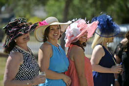 """The Museum of the Southwest hosted """"A Day at the Races"""" party to coincide with the Kentucky Derby, Saturday, May 7, 2016. James Durbin/Reporter-Telegram"""