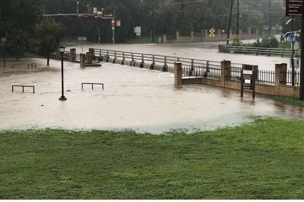 Texas State University and Hays County experienced heavy rain Sept. 26, 2016. Many students at the university took to Twitter to share photos and express frustration with Texas State.