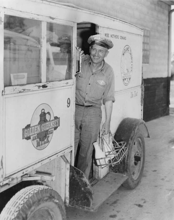 Linton E. Smith, Midland Dairy Co. Unknown date Photo: Daily News File Photo