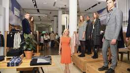 Federica Marchionni, shown at an event for Lands' End fall collection, has resigned as the retailer's CEO effective immediately. She was recruited from the New York fashion house Dolce & Gabbana in a bit of a culture clash.