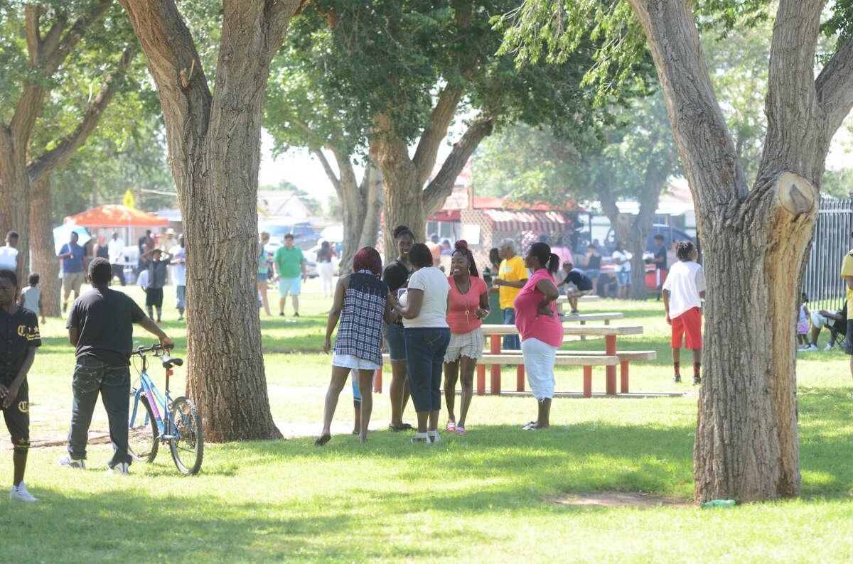 The Juneteenth celebration begins Thursday at Washington Park.