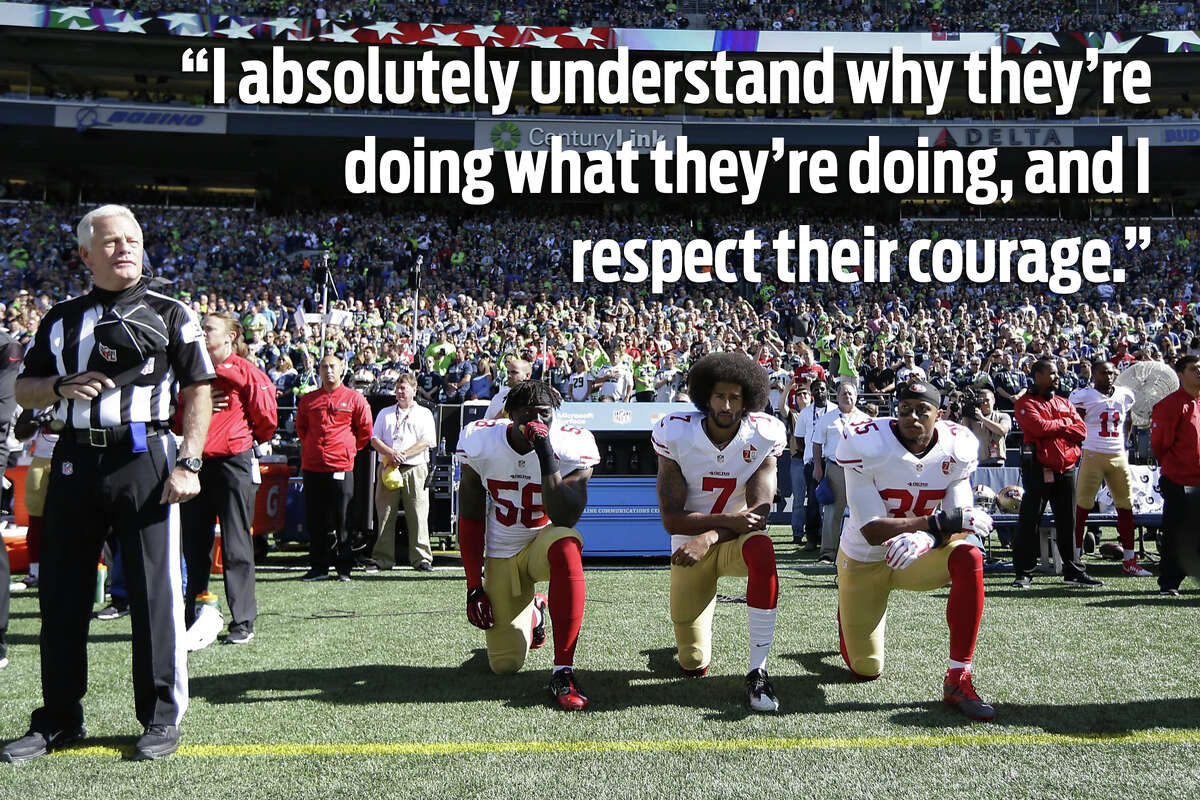 Do you support that athletes that are taking stands?
