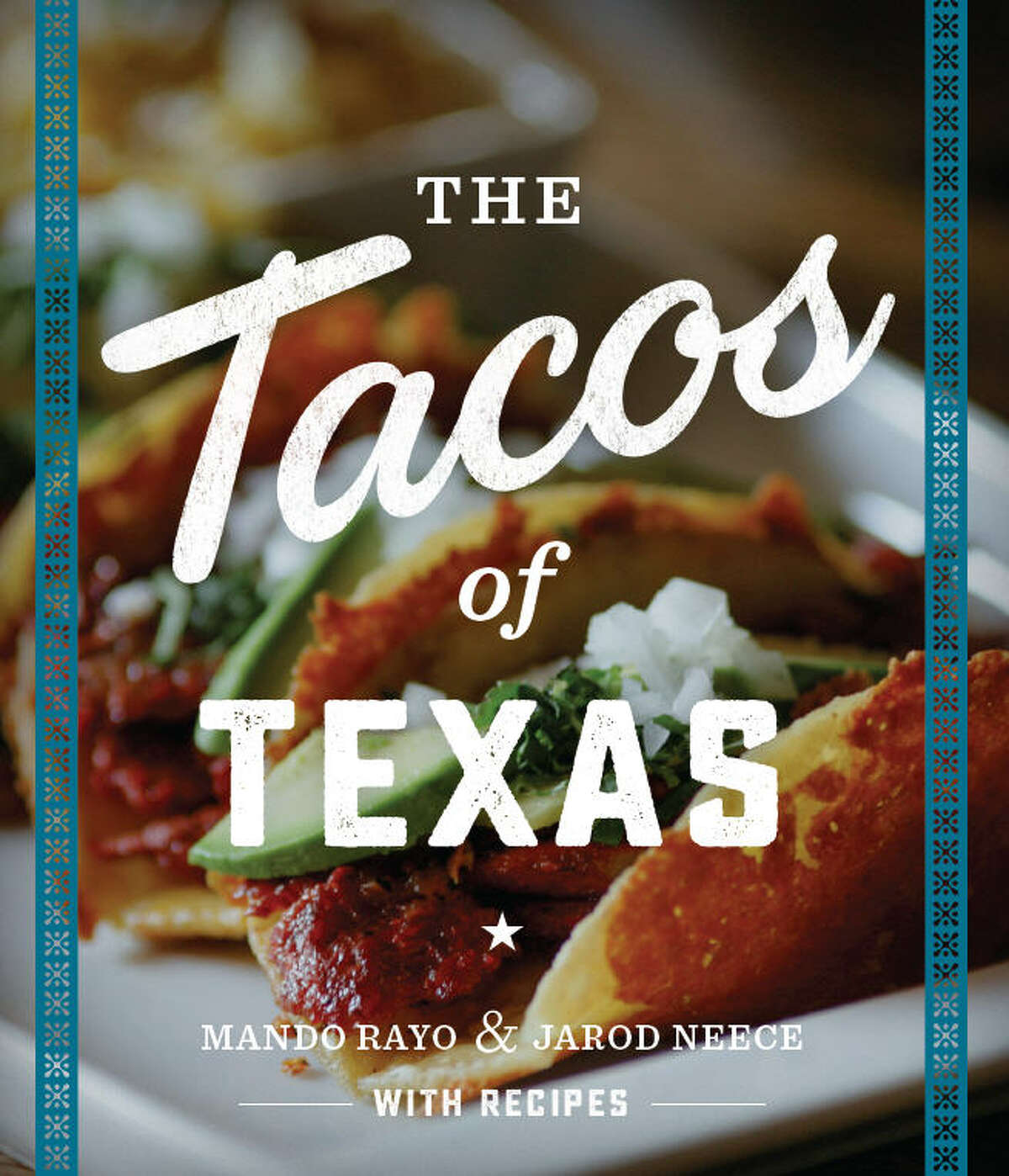 The three amigos!  According to the book, there are three distinct types of tacos in Texas: Traditional, Tex-Mex and New Americano.