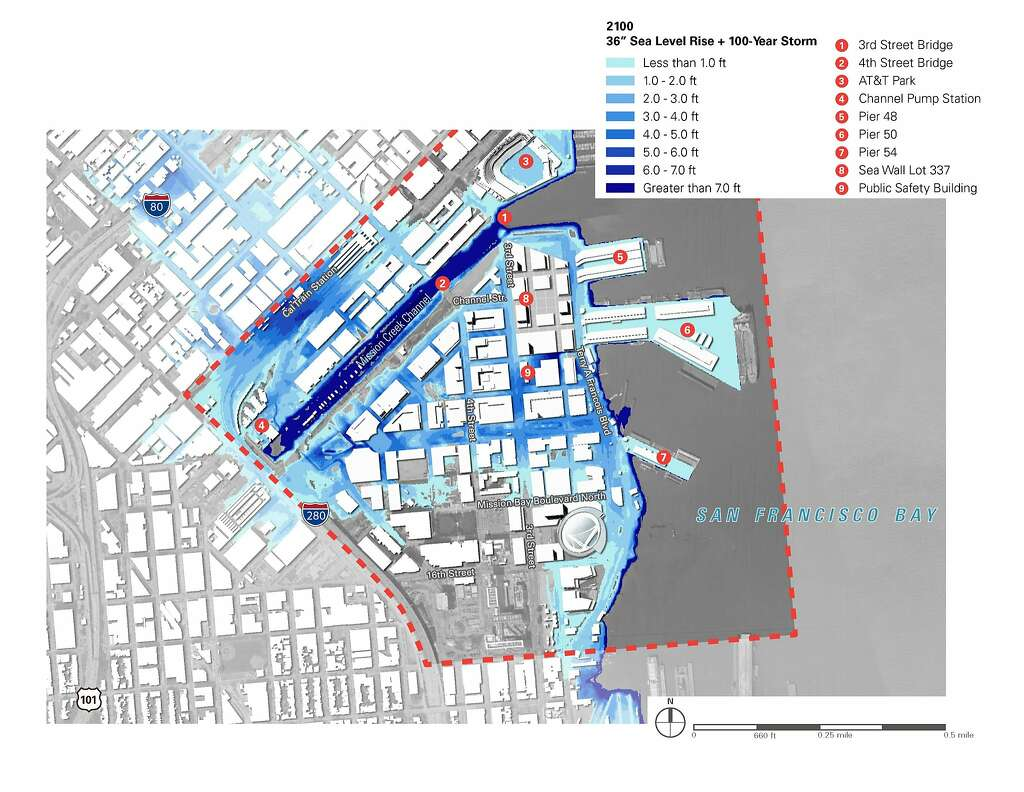 Mission Bay may need tidal barriers huge levees as sea rises SFGate