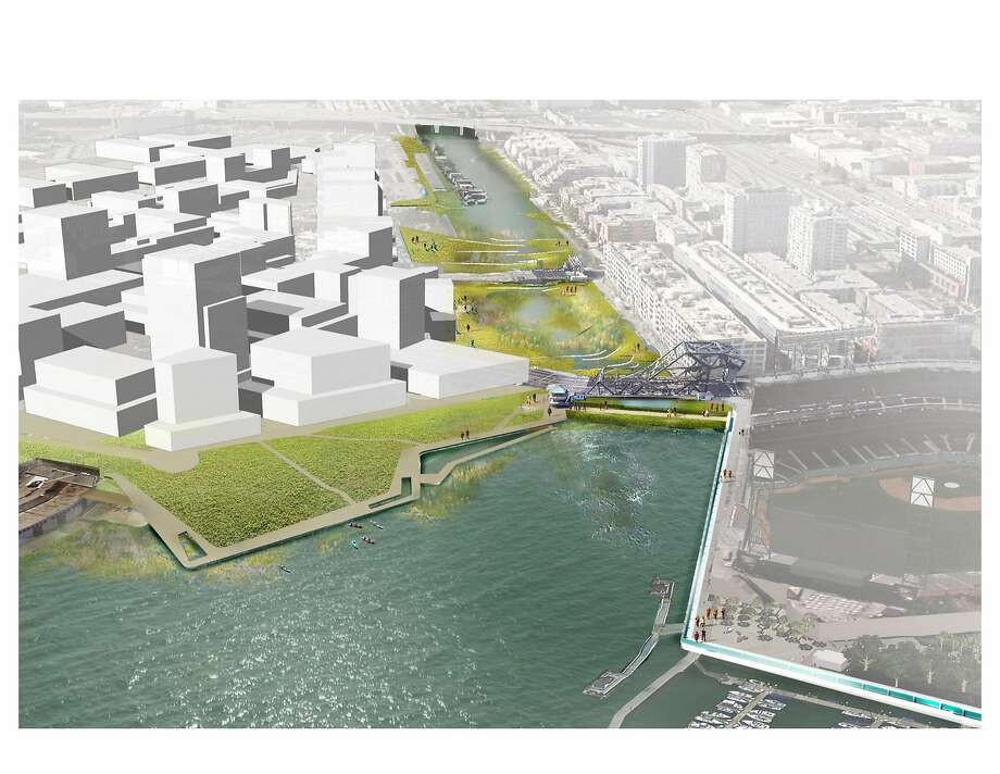 Mission bay may need tidal barriers huge levees as sea for Design agency san francisco