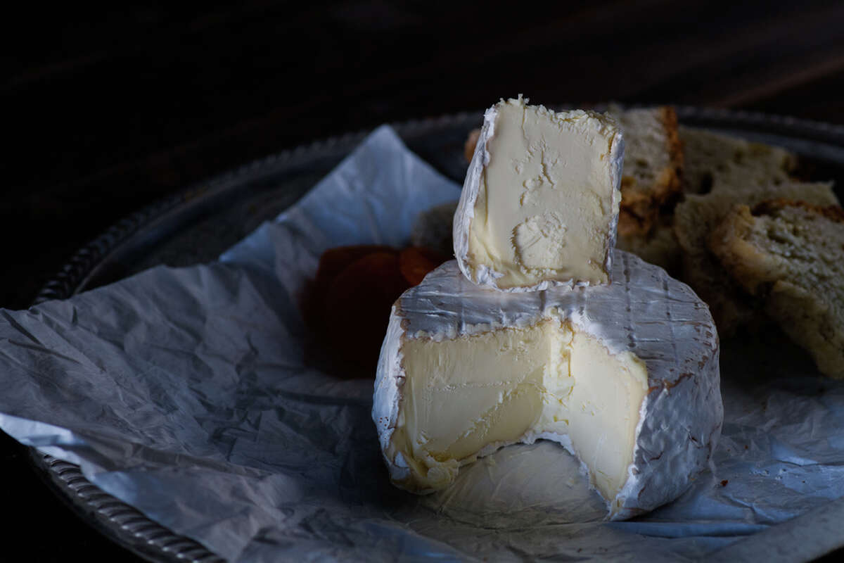 St. Stephen cheese from Four Fat Fowl in Stephentown, NY. Visit their website.