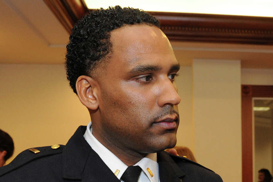 Bridgeport Police Lt. Lonnie Blackwell. Photo: Ned Gerard / ST / Connecticut Post