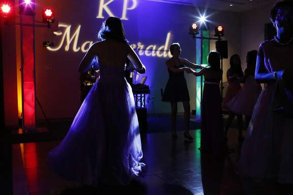 Teens dance during Kaiser Permanente Oakland's Pediatric Prom at Oakland Medical Center Sept. 24, 2016 in Oakland, Calif. The second annual dance was attended by around 100 teens who were otherwise unable to have the traditional school dance experience due to trauma or illness.