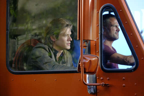 Two Texans, Lucas Till, left, and George Eads, are the leads of CBS-TV's reboot of 'MacGyver.'
