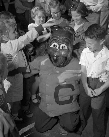 The Cal Bears mascot Oski  Photos shot in 1955 Photo: Duke Downey, The Chronicle