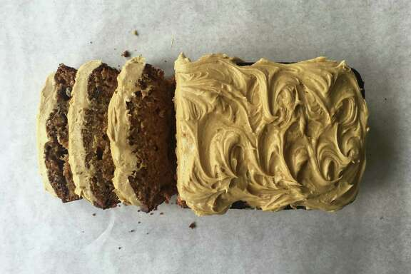 Date and Cardamom Cake with Coffee Frosting
