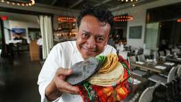 Since his first restaurant opened, Hugo Ortega, of Hugo's and Caracol, has insisted on using fresh-made corn tortillas.