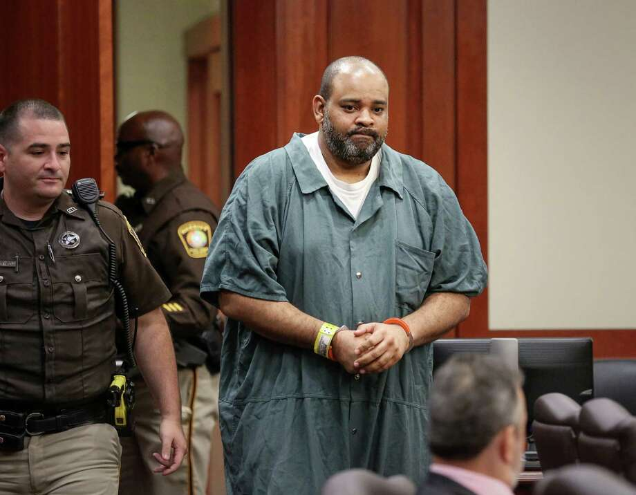 Edward McGregor, who was convicted of capital murder in 2010, enters the courtroom before a hearing in the 434th District Court, Monday, Sept. 26, 2016, in Richmond. McGregor's attorney is seeking a new trial because he believes the conviction was based on inappropriately-obtained testimony. Photo: Jon Shapley, Houston Chronicle / © 2015  Houston Chronicle