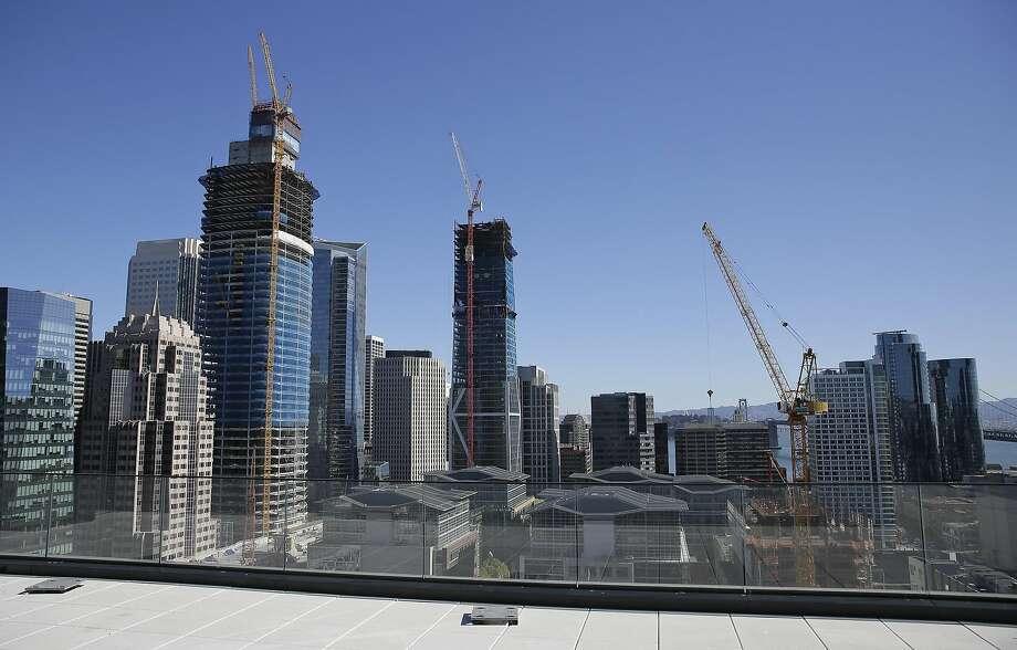 San Francisco's booming skyline. Photo: Eric Risberg, Associated Press