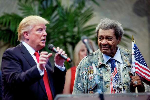 Donald Trump, the Republican presidential nominee, shares the stage with ex-boxing promoter Don King during a campaign event in Cleveland Heights, Ohio. Readers comment on the race between Trump and Hillary Clinton.