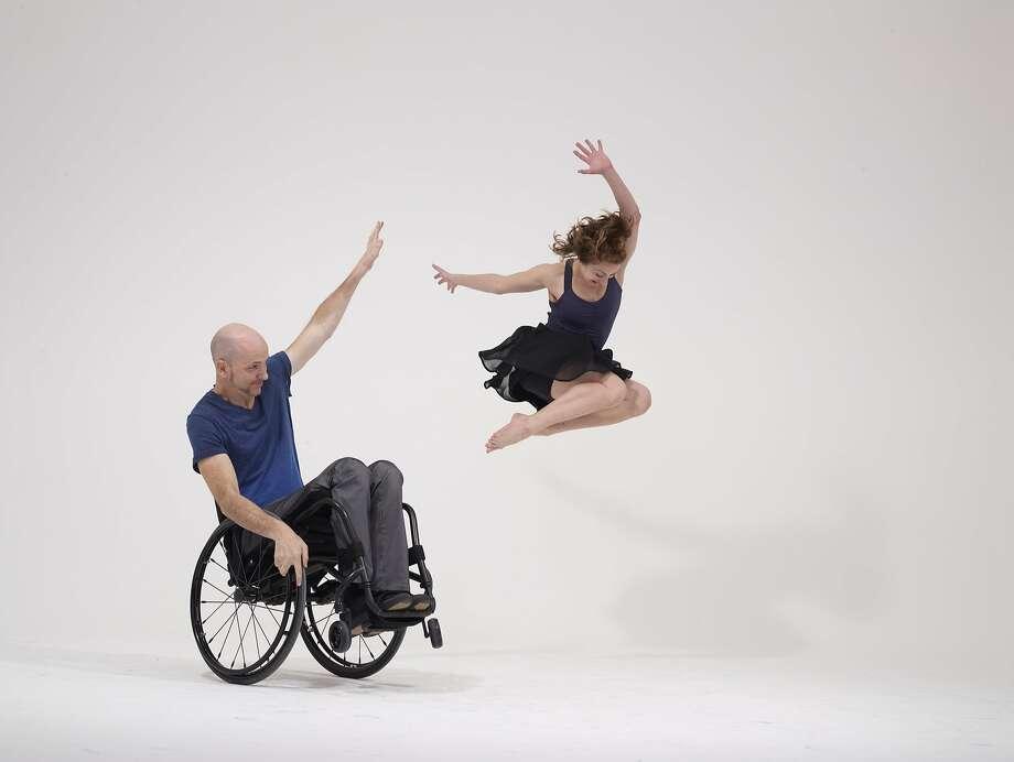 Dancers (L-R) Dwayne Scheuneman and Sophie Stanley.  Photo by David DeSilva Photo: David DeSilva