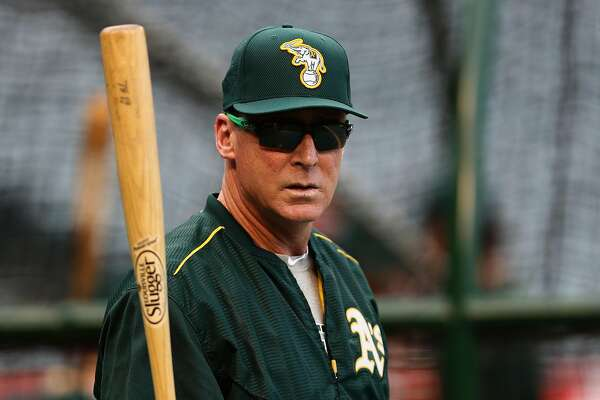 ANAHEIM, CA - SEPTEMBER 26:  Manager Bob Melvin of the Oakland Athletics looks on prior to a game against the Los Angeles Angels of Anaheim at Angel Stadium of Anaheim on September 26, 2016 in Anaheim, California.  (Photo by Sean M. Haffey/Getty Images)