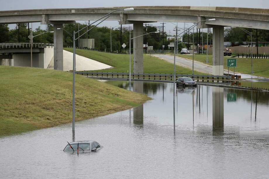 Yes, Hurricane Harvey missed San Antonio but we should remember that this city is no stranger to flooding. For instance, here, when vehicles are left stranded in high water along General Hudnell Drive east of Port San Antonio after heavy rains caused flooding. Equity budgeting will ensure that areas historically neglected for infrastructure can survive natural disaster. Photo: JERRY LARA /San Antonio Express-News / © 2016 San Antonio Express-News