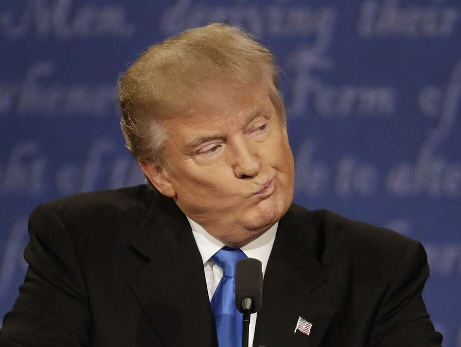 Donald Trump: Not serious enough for the Taliban, apparently.Keep clicking to see the best memes from the presidential debate.  Photo: Patrick Semansky, Associated Press