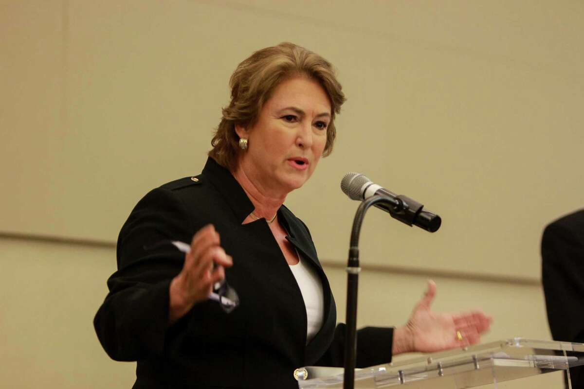 """""""Revictimizing a victim never justifies the end,"""" then-Democratic district attorney candidate Kim Ogg said at a pre-election debate last year, referring to the jailing of a mentally ill rape victim. On Tuesday, Ogg testified in favor of a bill that would grant legal representation to crime victims who could face jail as material witnesses."""