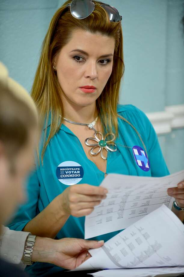 MIAMI, FL - AUGUST 20:  Actress and former Miss Universe Alicia Machado campaigns for Hillary Clinton  on August 20, 2016 in Miami, Florida.  (Photo by Johnny Louis/WireImage) Photo: Johnny Louis/WireImage