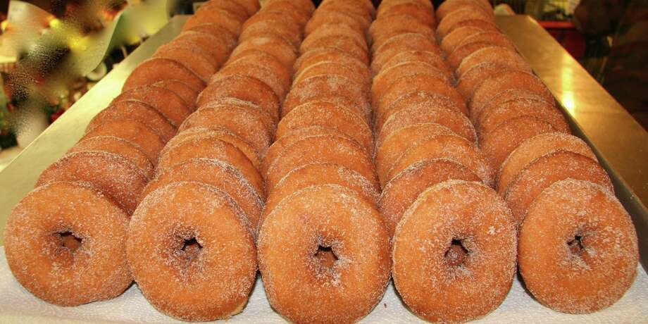 Click through the slideshow to see some of the locally made food and drinks of the Capital Region recommended by readers of the Table Hopping blog.  Cider donuts from Golden Harvest Farms in Valatie, NY. Visit their website. Photo: Golden Harvest Farms
