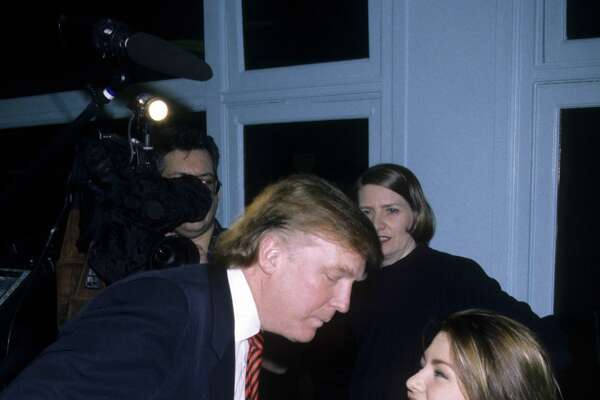 Alicia Machado, Miss Universe 1996, works out on January 28, 1997 in New York. She was criticized by some for gaining weight after the pageant and the story has become a flash point in the 2016 presidential election between Donald Trump and Hillary Clinton.