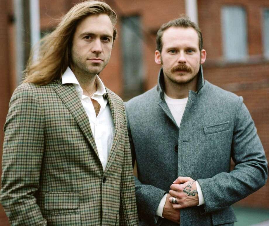Austin folk duo Penny & Sparrow -- Kyle Jahnke (left) and Andy Baxter Photo: RJ / Courtesy Photo
