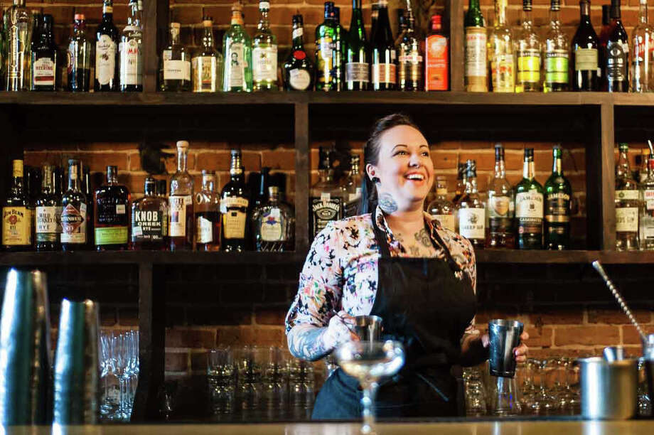 leslieross Photo: Alex Gregg, Acclaimed Bartender And Beverage Director Leslie Krockenberger, Formerly Leslie Ross, Has Left The Treadsack Hospitality Group And Is Now Working At Moving Sidewalk Bar At 306 Main In Downtown Houston.
