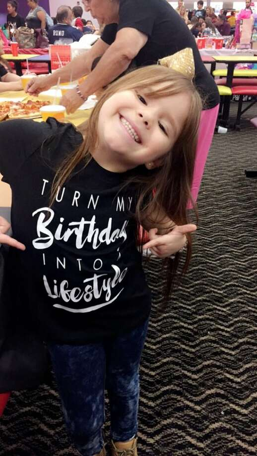 For her 6th birthday, Leah Saldivar from San Antonio, celebrated Drake-style. Photo: Leah Saldivar Drake Birthday