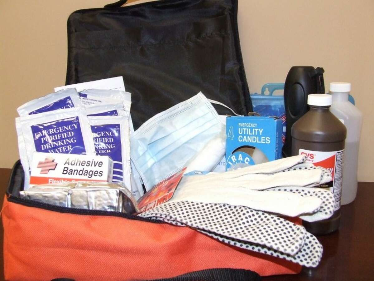 A first aid kit is just a part of the supplies the Federal Emergeny Management Agency suggest in their