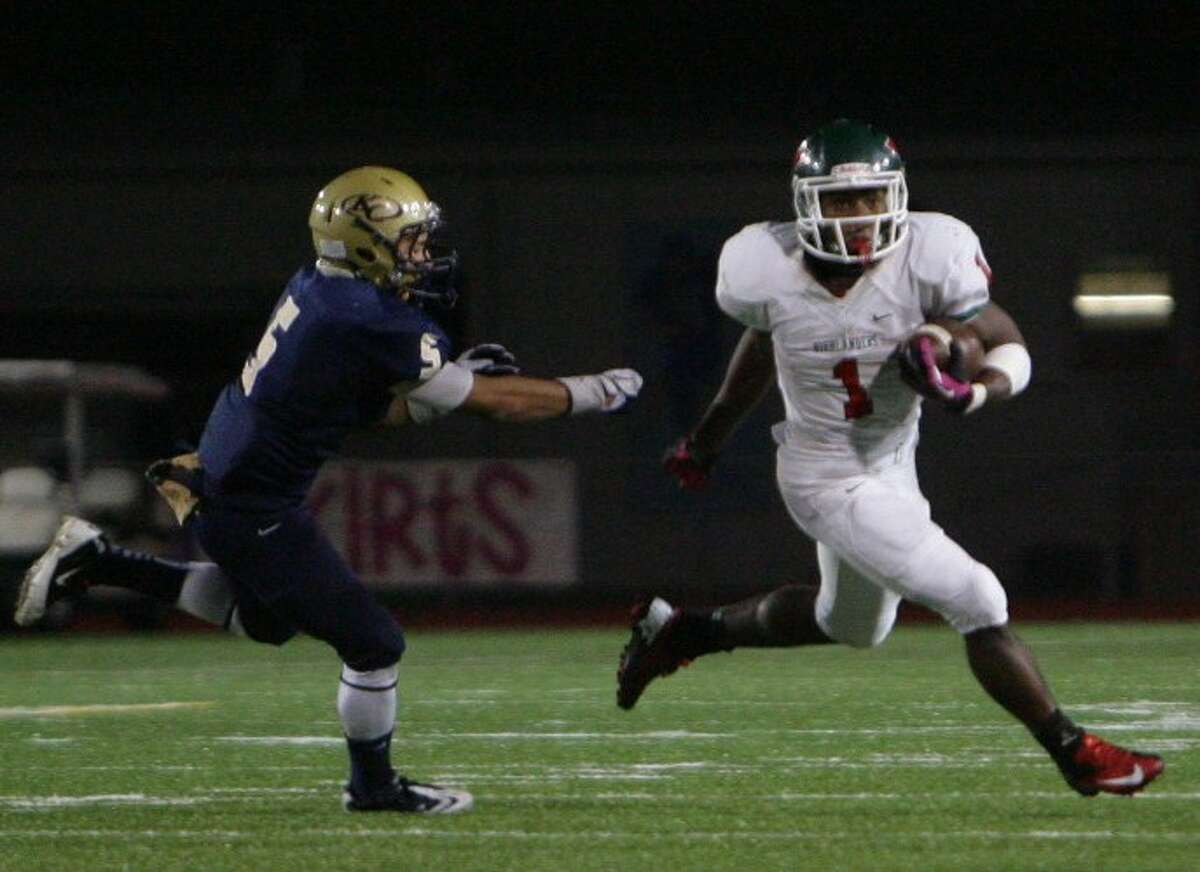 The Woodlands' Patrick Carr finished the regular season with four straight 200-yard games, including 12 touchdowns.