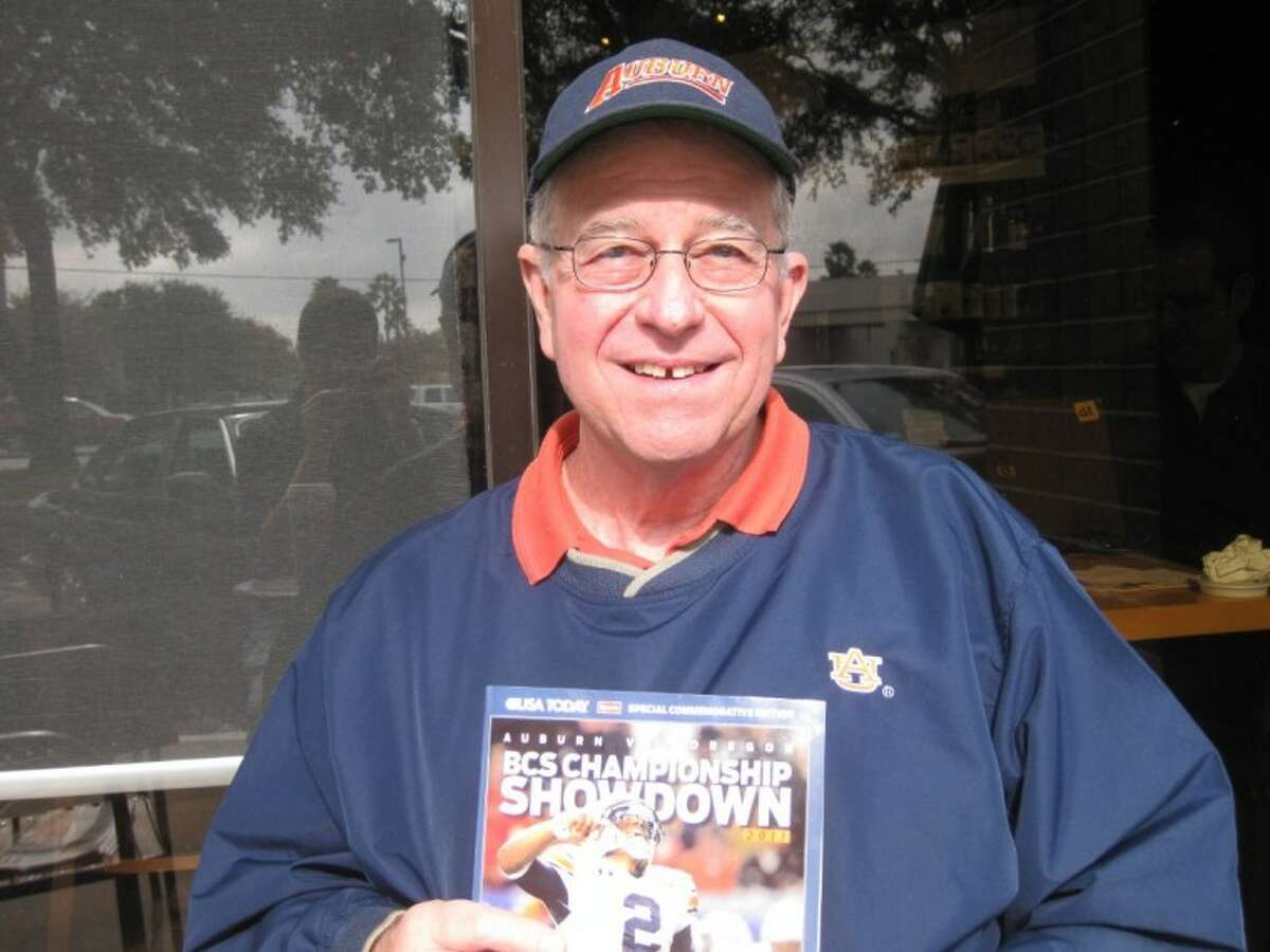 Klein resident Allen Owen, a 1966 Auburn University graduate, is looking forward to Monday's BCS National Championship Game between the Tigers and Oregon.