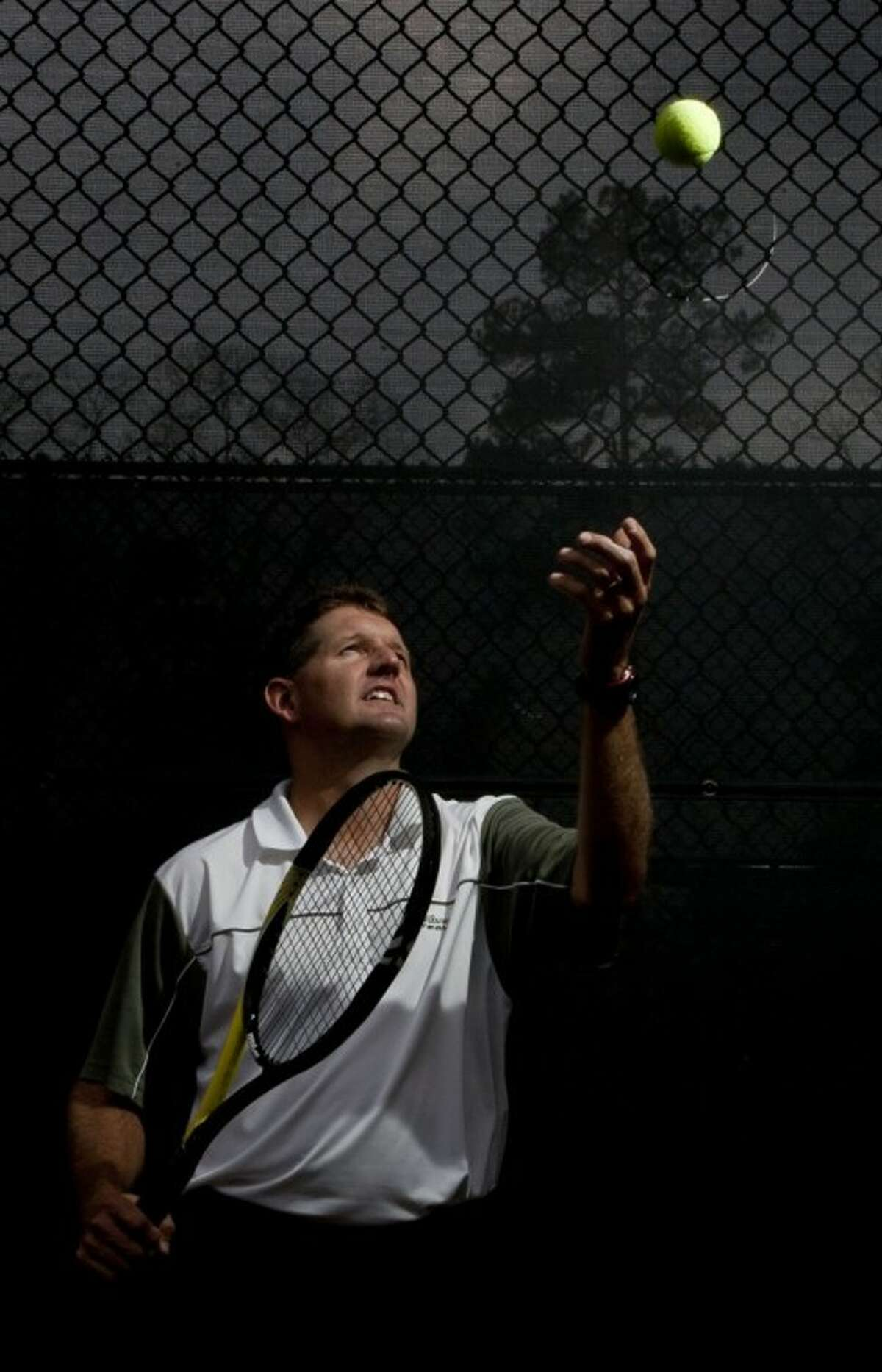 Cary Lothringer, 39, director of tennis at The Club at Carlton Woods, won the 35-and-up doubles championship at the United States Professional Tennis Association International Championships at the USPTA World Conference in La Quinta, Calif., in September. The tennis pro also won a national competition recently gaining popularity, the fifth annual USPTA Cardio Tennis National Feeding Shootout.
