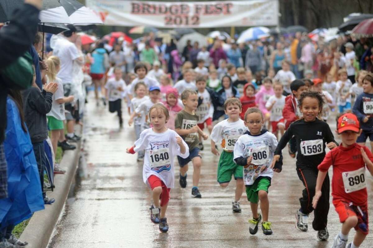 Despite inclement weather, the race continues on each year. This year's Bridge Fest is set for Feb. 2.