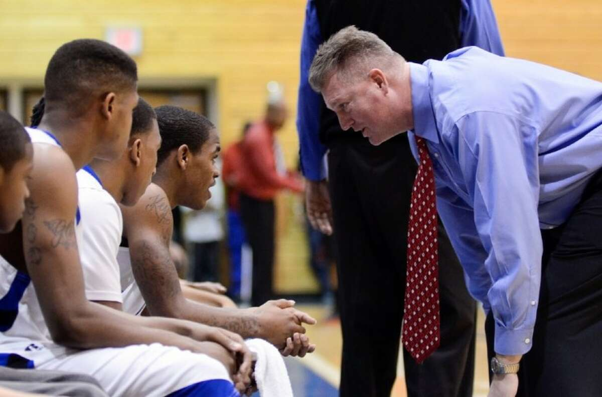 Dekaney coach Jeff Wylie uses his past athletic and academic achievements to help his team stay focused.