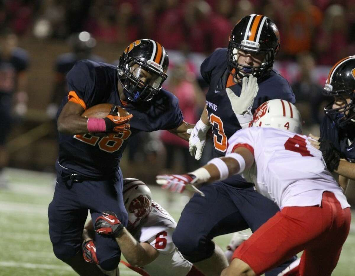 Seven Lakes running back Braeden West is a finalist for the Touchdown Club of Houston Offensive Player of the Year award.