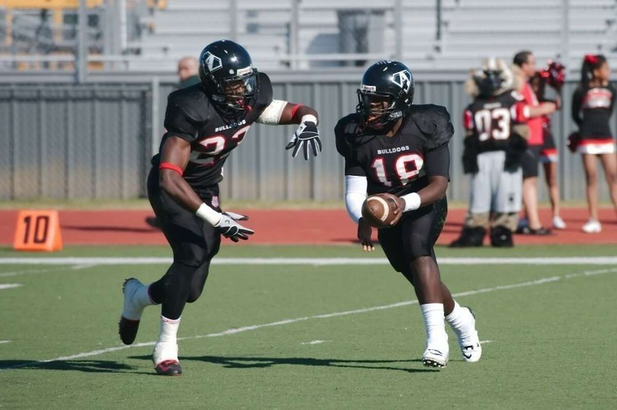 Austin running back Vic Enwere was voted District 23-5A Offensive MVP.
