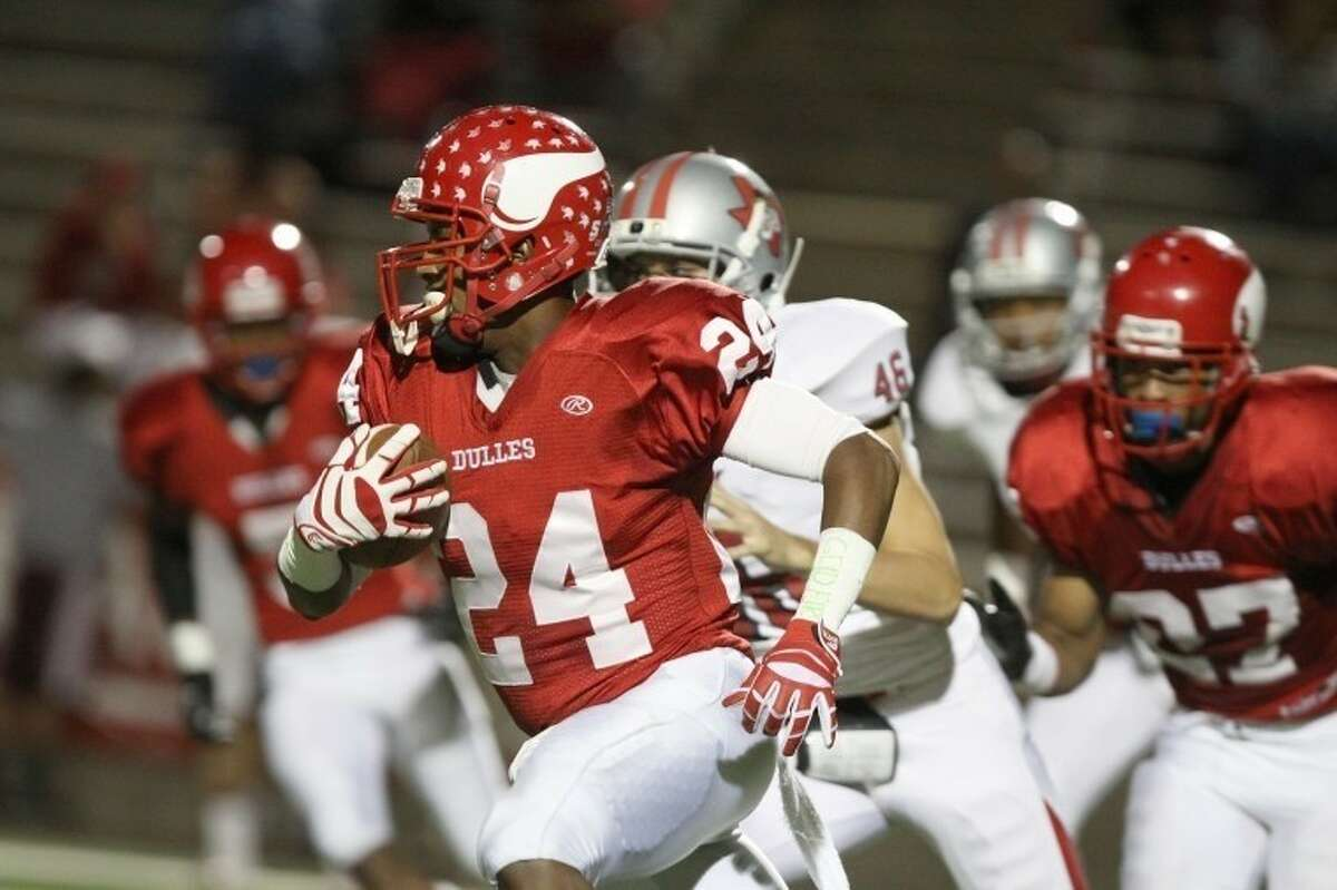 Dulles cornerback Maurice Smith was voted District 23-5A Defensive MVP.