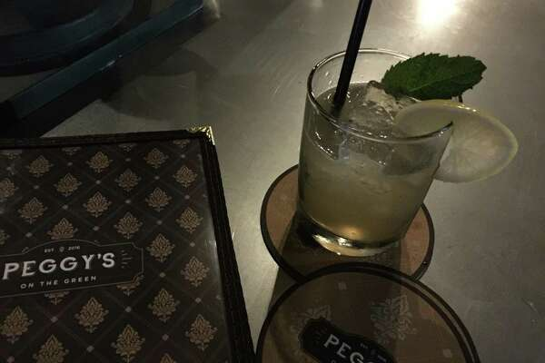 The Cibolo Smash with Old Overbolt Rye, ginger, lemon and mint costs $9. Ye Kendall Inn in downtown Boerne is now home to Mark Bohanan's new restaurant, Peggy's on the Green, which specializes in Southern comfort food.