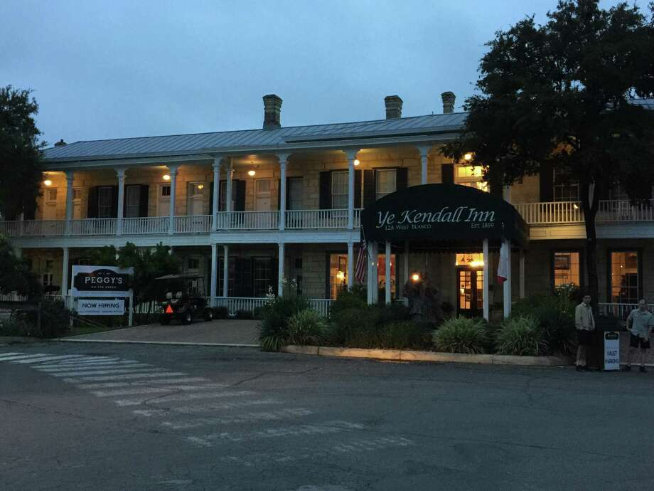 Ye Kendall Inn in downtown Boerne is now home to Mark Bohanan's new restaurant, Peggy's on the Green, which specializes in Southern comfort food. Photo: Emily Spicer / San Antonio Express-News